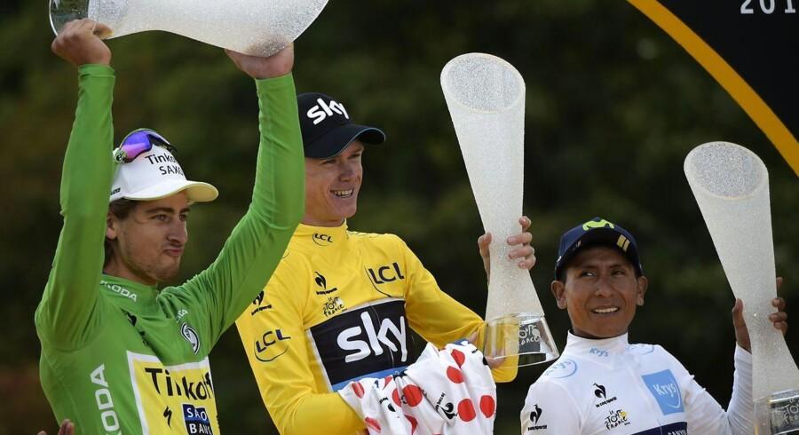 Alle trøje-vindere fra Tour de France skal også duellere i Vueltaen.