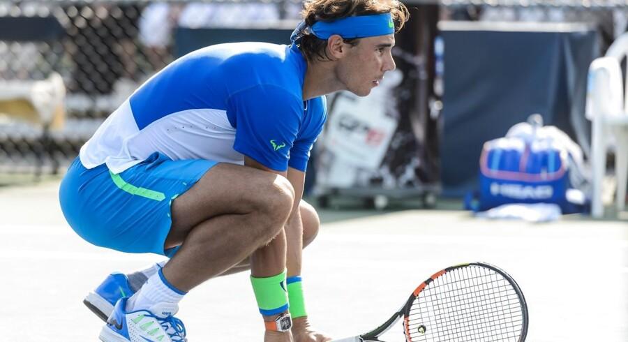 Rafael Nadal kommer til Odense for at spille Davis Cup mod Danmark.