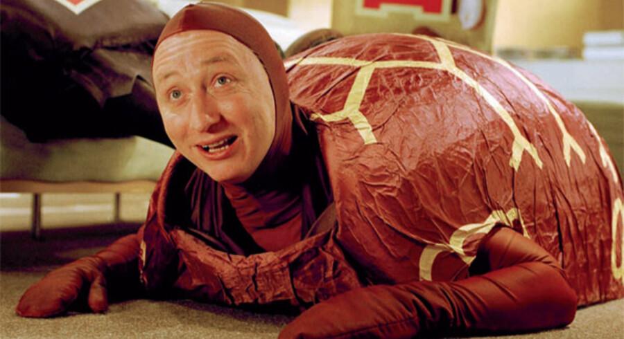 Skildpadd en: Brandingeffekten af at spille chokoladeskildpadde i Toms reklamefilm har været stor. Mange tror, Søren Fauli også har instrueret filmene.
