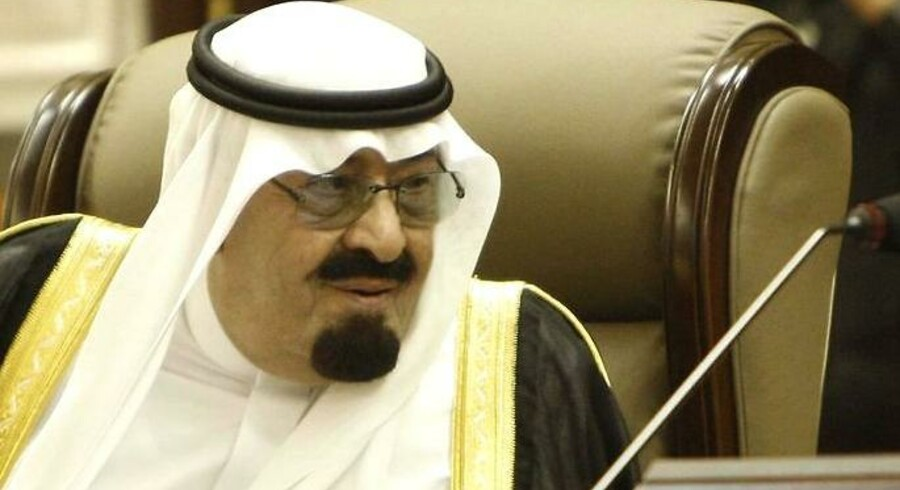 Saudi-Arabiens Kong Abdullah bin Abdulaziz Al Saud