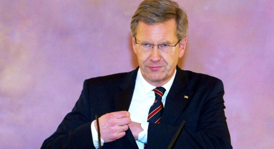 Forbundspræsident i Niedersachsen, Christian Wulff.