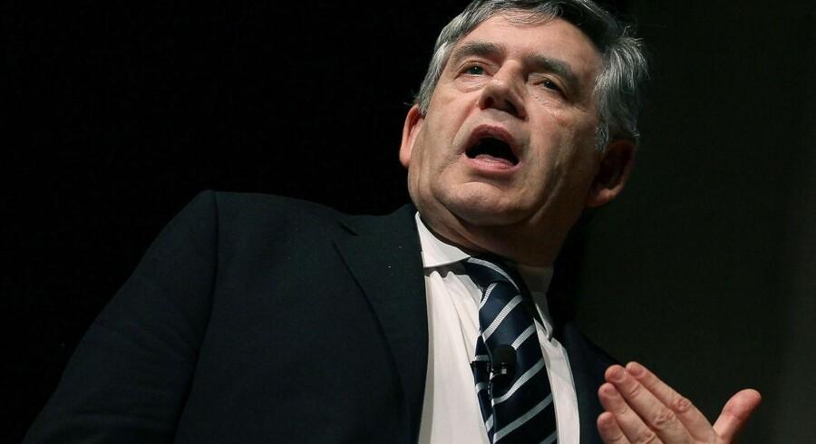 Forhenværende premierminister i Storbritannien Gordon Brown fik angiveligt hacket sin email, da han var finansminister.