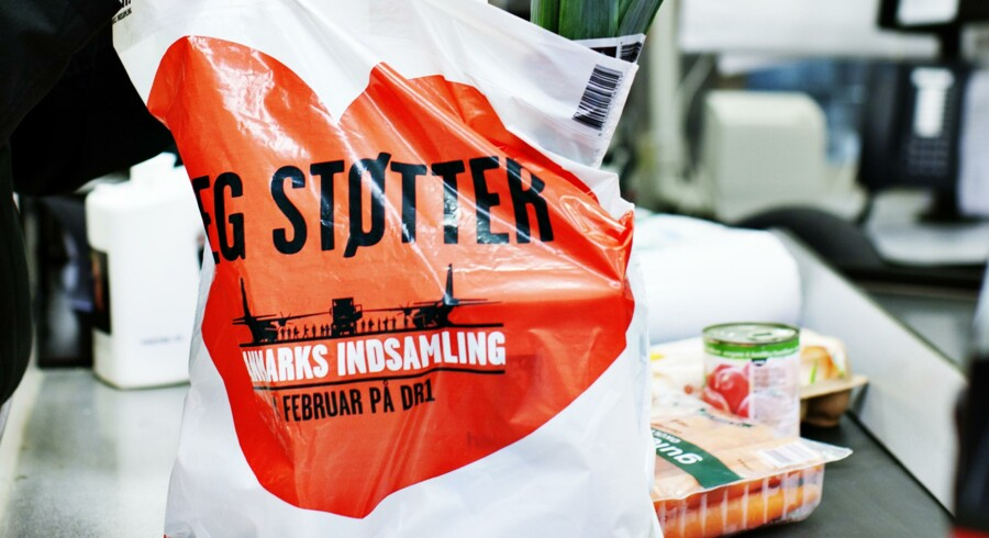 Supermarkets earn millions from charity plastic bags