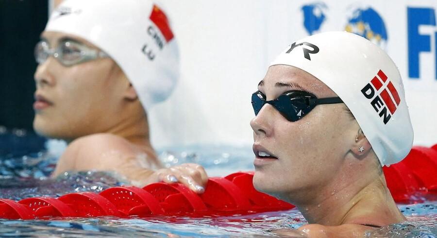 Jeanette Ottesen er videre til semifinalen i 50 meter fri,