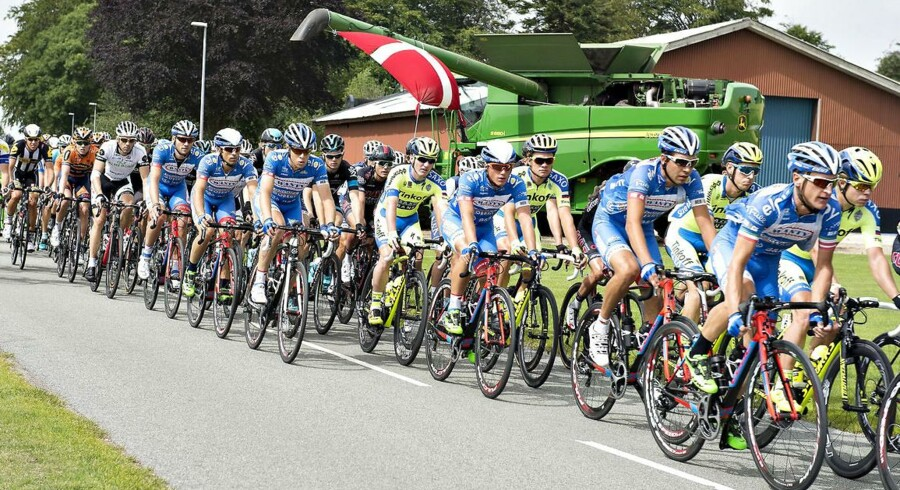 Team Sky tror ikke længere på et topresultat ved Post Danmark Rundt.