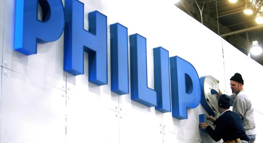 Spareplanen i Philips bliver nu strammet, så flere skal ud. Arkivfoto: Steve Marcus, Reuters/Scanpix