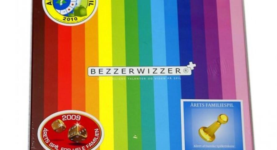 Førstepræmien er et spil Bezzerwizzer. Anden- og tredjepræmien er en rejseudgave af spillet.