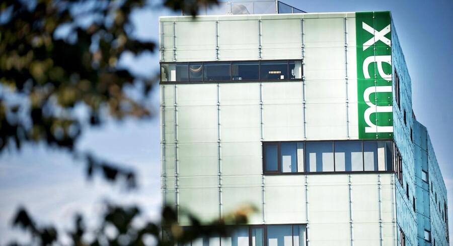 Den krakkede Max Bank i Næstved fotograferet torsdag den 13. oktober 2011. (Foto: Marie Hald/Scanpix 2011)