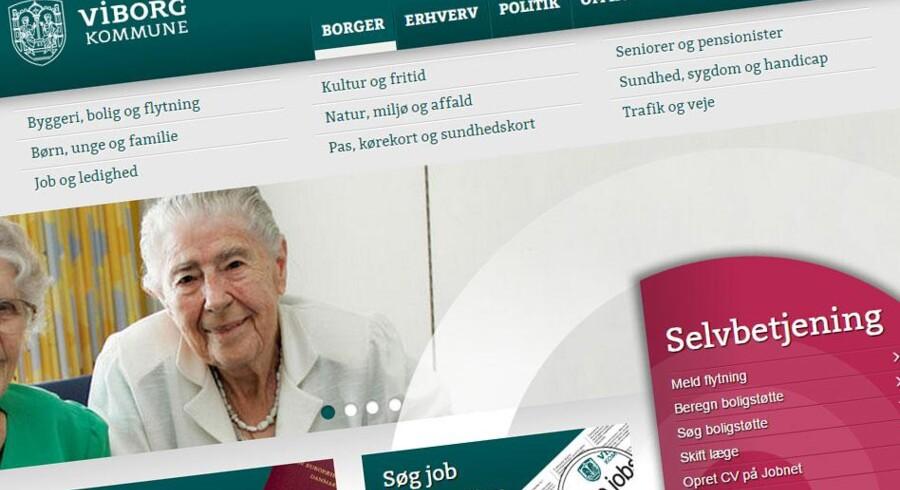 Viborg Kommunes hjemmeside har også brugt den omstridte AddThis-tjeneste.