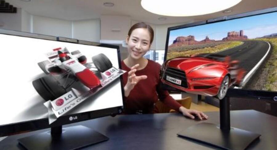 LG får certificering på det første brilleløse 3D-TV.