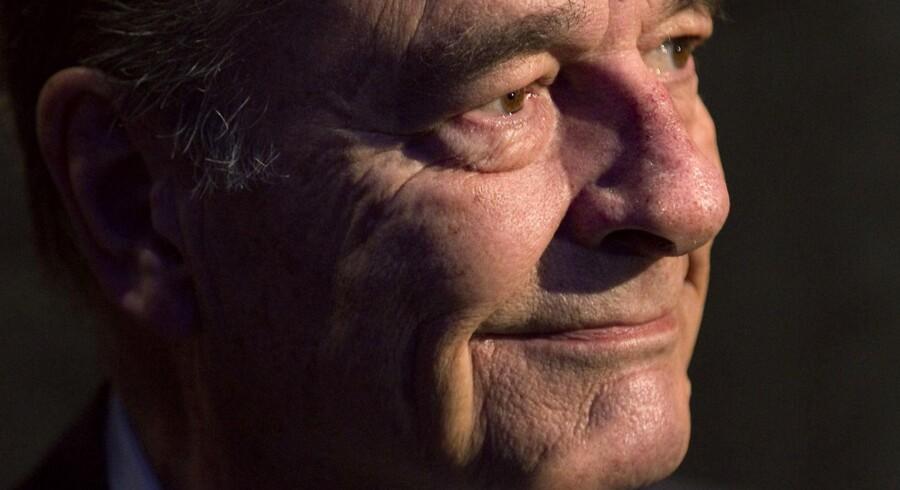 Tidligere præsident Jaques Chirac dømt for korruption.)