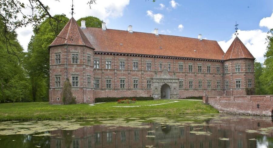 ARKIVFOTO. Voergård Slot i Nordjylland.