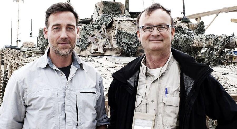 Erik Refner og Christian Brøndum. Afghanistan.