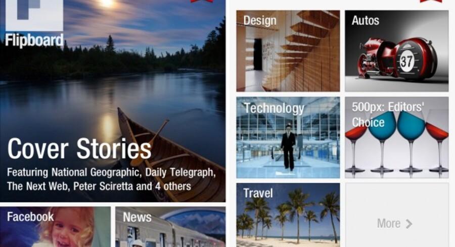 Flipboard sætter ny standard for indtag af indhold på iPhone. Aldrig har det været så lækkert.