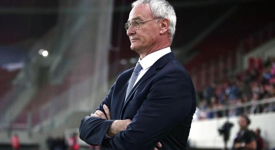 Claudio Ranieri er blevet præsenteret som ny cheftræner i Leicester City.