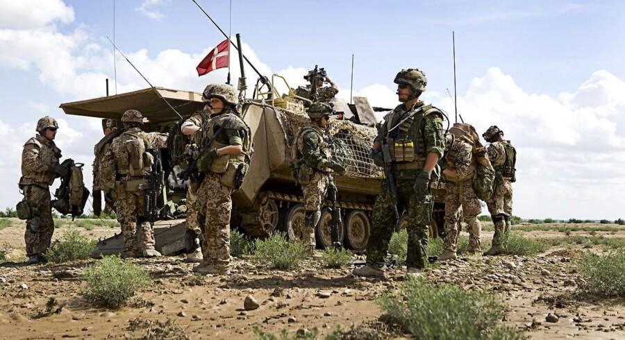 Danske soldater kan have dræbte en civil afghaner i oktober - de troede, at han var talebaner. Arkivfoto.