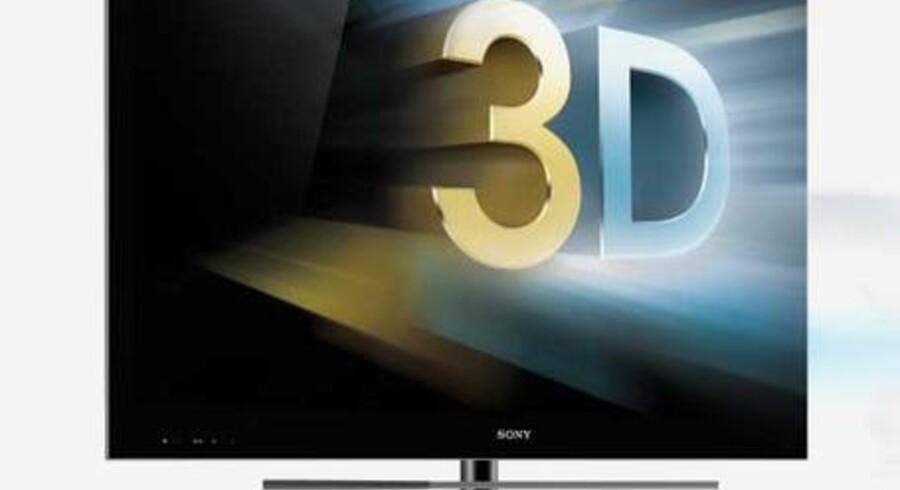 Sony er på vej med eget bud på brillefrie 3D-TV. Men der kommer til at gå et par år, før de er ude på markedet.
