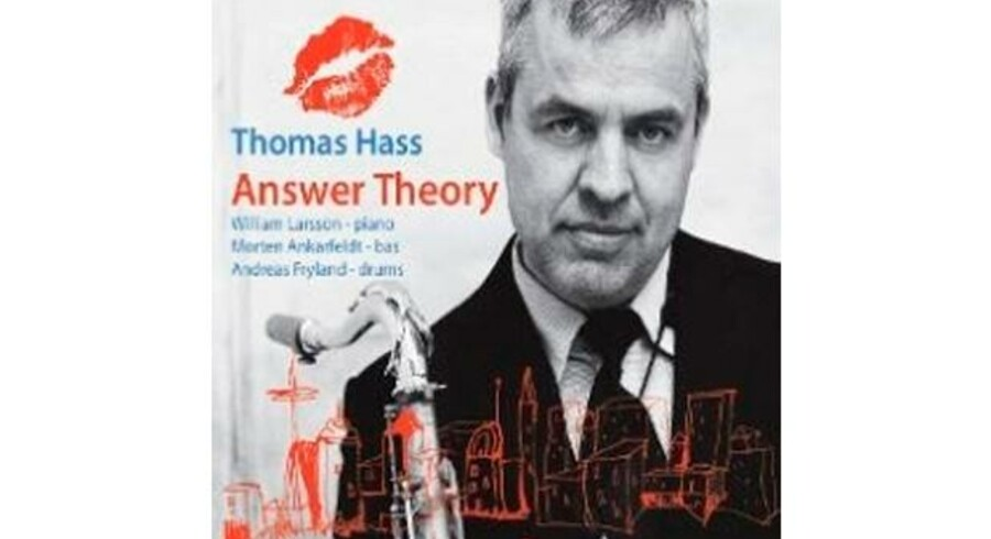 Thomas Hass - »Answer Theory«. Cover.