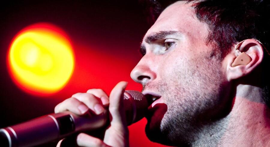 At Adam Levine er damernes mand, det stod klart fredag aften, hvor Maroon 5 gæstede Frederiksberg.