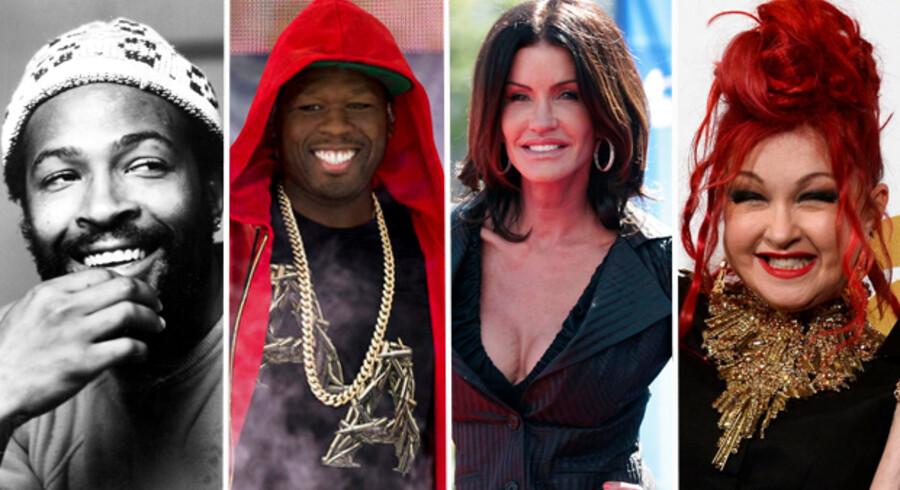 Rapperen 50 Cent er blot den seneste i rækken af kendte, der er gået konkurs. Skattegæld, skilsmisser og skønhedsoperationer er nogle af årsagerne til stjernernes økonomiske deroutes.