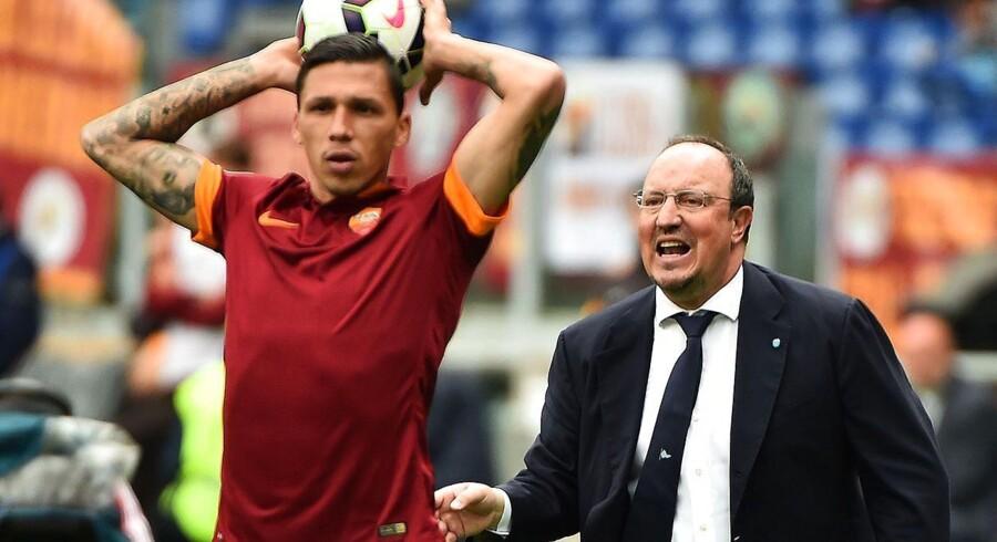 Jose Holebas i aktion for Roma.