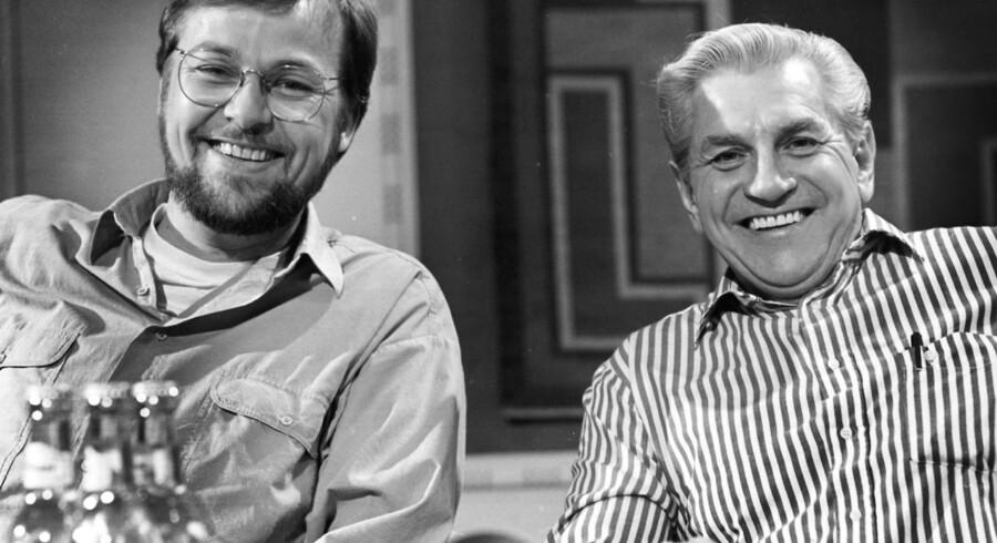 DKP formand Ole Sohn (tv) og Preben Møller Hansen.