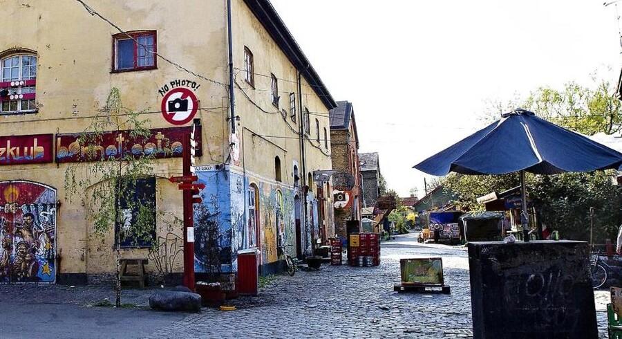 Pusherstreet har ekstra mange kunder på grund af Roskilde Festivla
