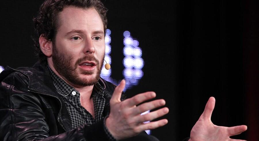 Sean Parker ved Web 2.0 i San Francisco sidste efterår. Napster-stifteren er snart klar med en ny virksomhed.