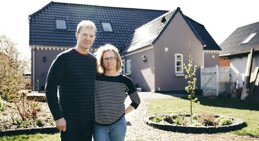 Arkivfoto. Da Lars Jørgensen efter et år i det nye hus på Fyn opdagede skimmelsvamp på førstesalen, bad han om dækning for skaden hos sin ejerskifteforsikring. Det blev afvist, og så kom sagen i Ankenævnet for Forsikring.
