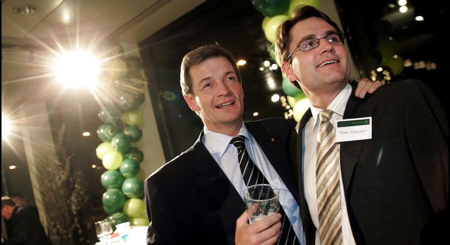 I 00erne tegnede Bendt Bendsten og Brian Mikkelsen Det Konservative Folkeparti udadtil. Dengang var man stålsatte på skattelettelser.