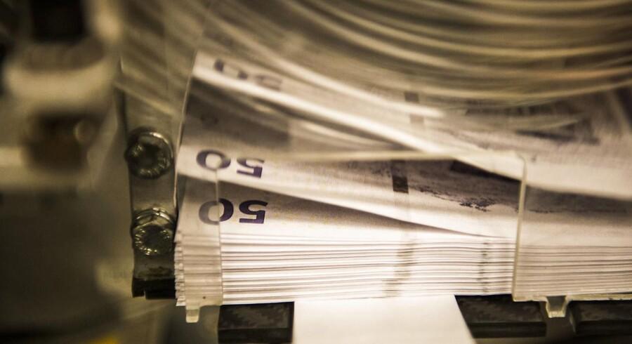 Er det snart slut med pengesedler? (Foto: Ólafur Steinar Gestsson/Scanpix 2016)