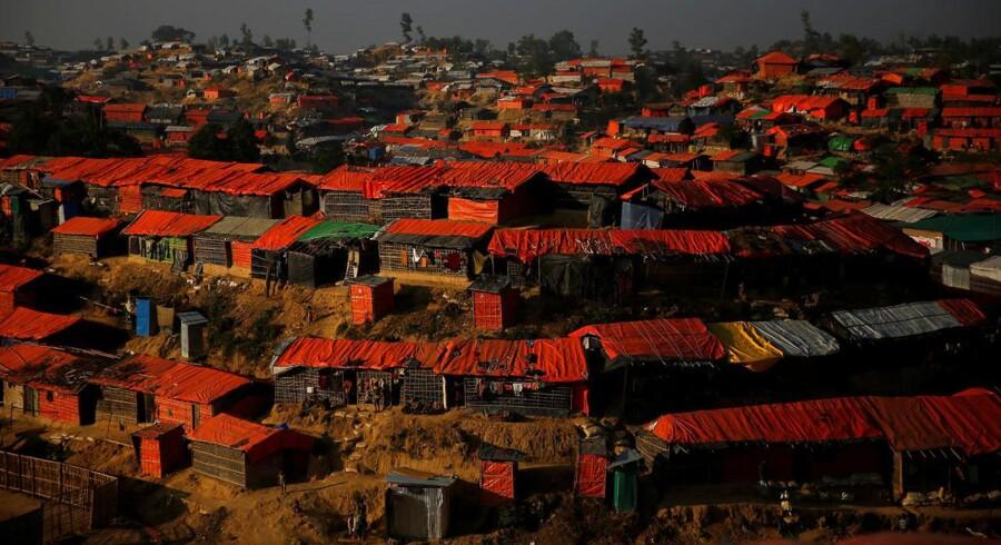Arkivfoto. FN's menneskerettighedschef, Zeid Ra'ad Al Hussein, antyder, at der foregår et folkedrab i Myanmar.