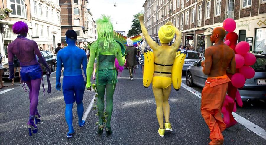 Hvad er det nu, T'et, Q'et og A'et står for i forkortelsen »LGBTQIA«? Arkivfoto.