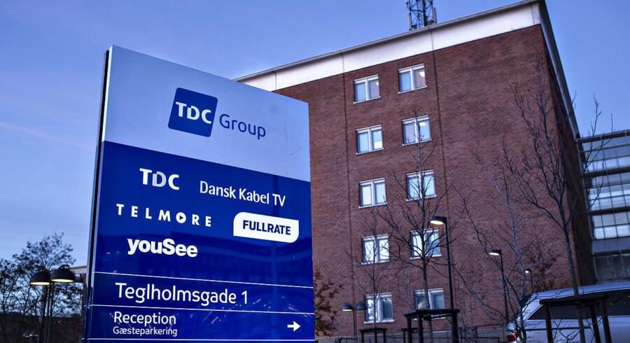 Detaljerne om TDCs fremtid er lige nu efterspurgte overalt oven på købstilbuddet, som TDCs aktionærer skal tage stilling til. Arkivfoto: Ida Guldbæk Arentsen, Scanpix
