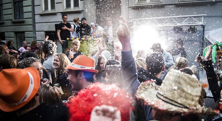 Distortion blev i går afholdt på Nørrebro.
