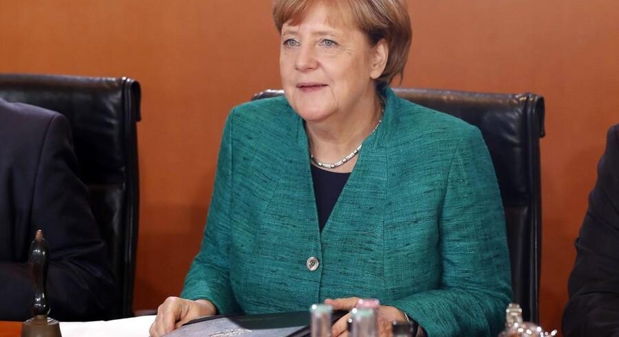 Onsdag mødes Tysklands forbundskansler, Angela Merkel, nemlig med partierne FDP og De Grønne.