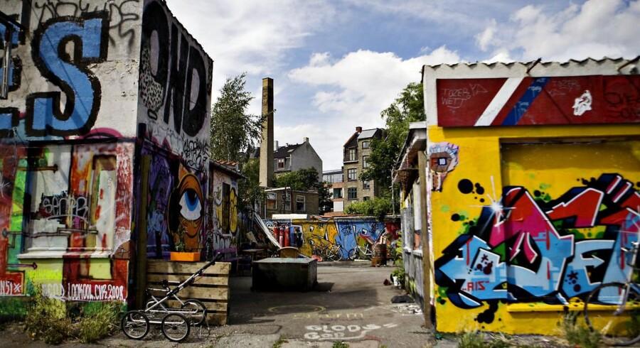 Spillestedet Bolsjefabrikken, da det lå i Københavns nordvestkvarter. I dag ligger det på Ragnhildgade i København Ø. Arkivfoto: Benita Marcussen