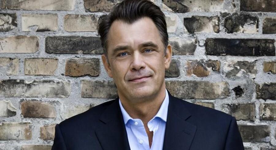 Administrerende direktør for »3« i Danmark, Morten Christiansen, er enig i, at der er for mange teleselskaber på det danske marked til, at der kan tjenes ordentlige penge. Men han bifalder ikke forestillingen om, at det er »3«, der skal købes. Foto: »3«