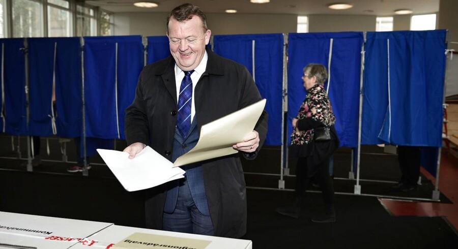 """EU-parlamentsvalget i 2014 var """"en begmand fra vælgerne"""". Trods samme tilbagegang er kommunalvalget """"flot"""". (Foto: NIELS AHLMANN OLESEN/Scanpix 2017)"""