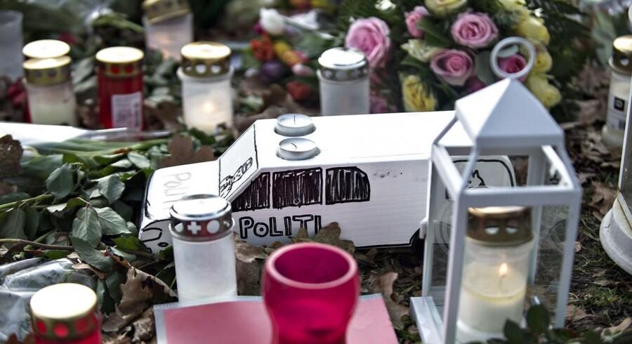 Det var et planlagt drab på politibetjent Jesper Jul sidste år, lyder det onsdag i Retten i Glostrup.
