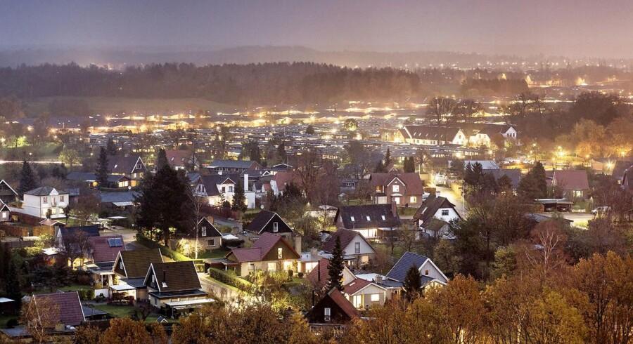 (ARKIV) Villakvarter i Ballerup, den 14. november 2014. I marts og april er boligudbuddet traditionen tro steget, og der er nu flere huse til salg, viser boligtal. Det skriver Ritzau, tirsdag den 8. maj 2018.. (Foto: Niels Ahlmann Olesen/Ritzau Scanpix)