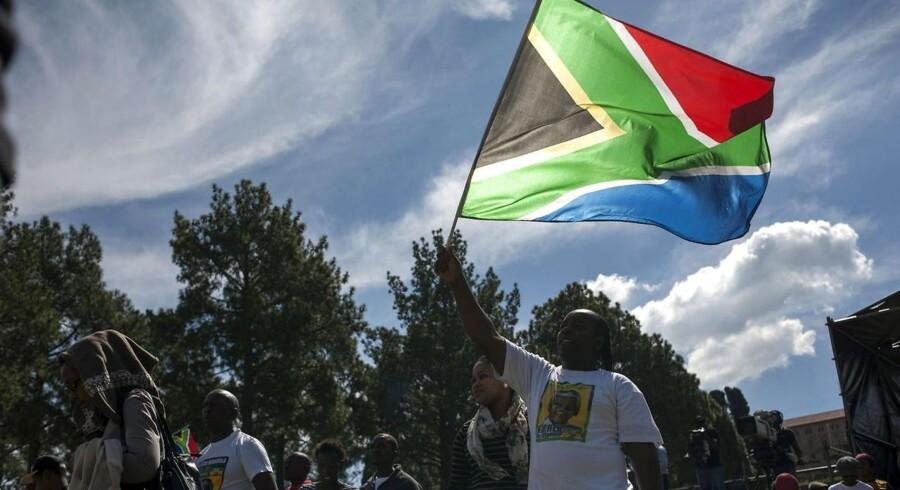 Sydafrikanere deltager i fejringen af 20-året for det første demokratiske valg.