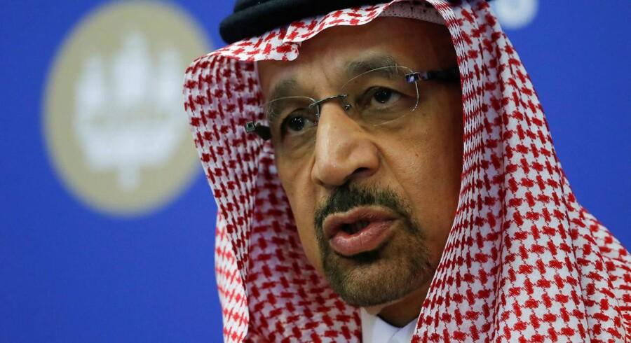 Den saudiarabiske energiminister, Khalid Al-Falih udtaler, at en aftale om gradvist at øge olieproduktionen i Organisationen for Olieeksporterende Lande (Opec) og dens allierede på organisationens møde i Wien i næste uge er »uundgåelig«.