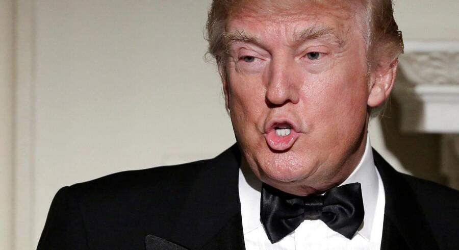 Den amerikanske præsident Donald Trump har ikke haft meget held med at få afsat posten som flådechef.