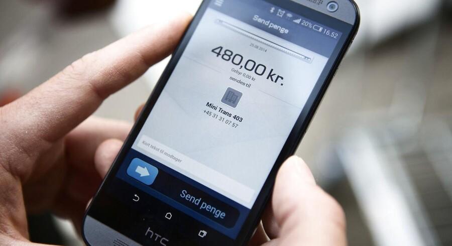 ARKIVFOTO: Brugere af MobilePay kan så småt begynde at bruge betalingstjenesten til abonnementer og betalingsaftaler.