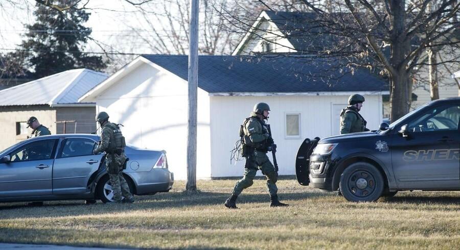 Skyderiet på universitetet i Michigan kommer kort efter et skyderi på et gymnasium i Florida, som kostede 17 mennesker livet.