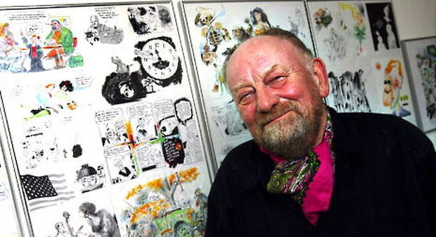 Tegneren Kurt Westergaard tager afstand fra Wilders brug af hans tegning