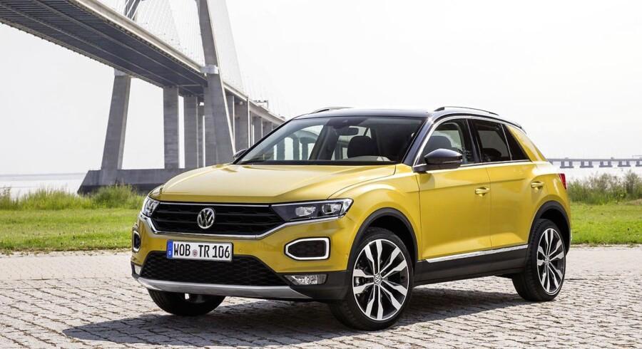 T-Roc er Volkswagens første kompakte crossover. Kortere end en Golf, til gengæld med større bagagerum på 445 liter. Den har premiere hos forhandlerne den 9. december