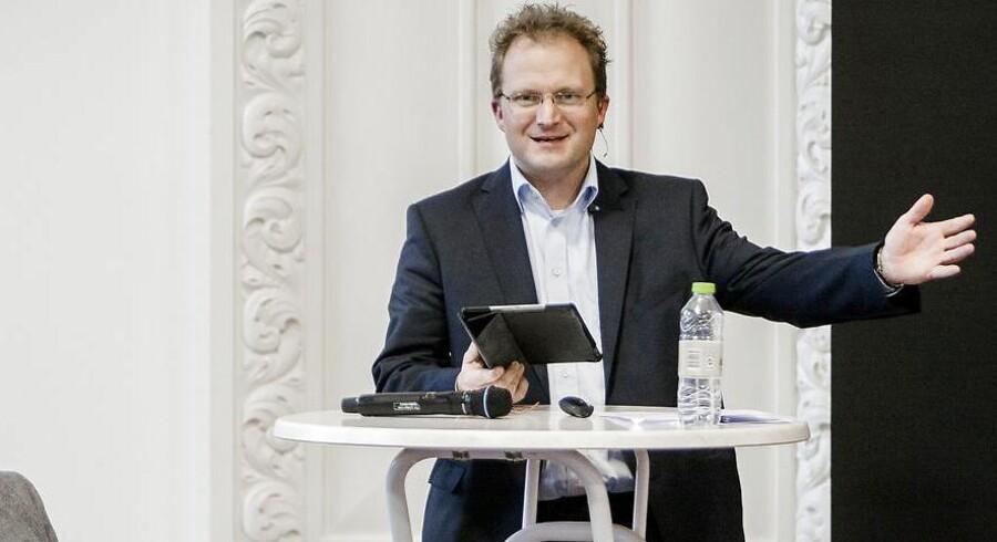 Steffen Damsgaard vil undgå, at storbyer som Århus og Aalborg tager alle de udflyttede arbejdspladser. Arkivfoto.