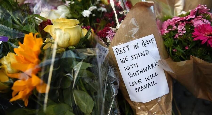 Tre gerningsmænd bag angreb i London blev dræbt af politiet, der har anholdt 11 i sagen. EPA/ANDY RAIN